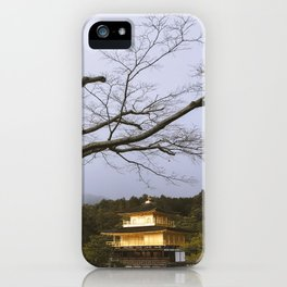 Golden Pavillion in Kyoto, Japan iPhone Case