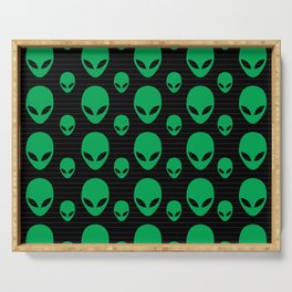 Aliens Exist Serving Tray