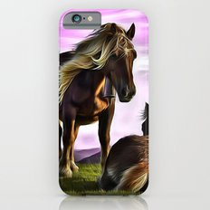 Horses In A Magical Land iPhone 6 Slim Case