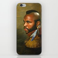 replaceface iPhone & iPod Skins featuring Mr. T - replaceface by replaceface