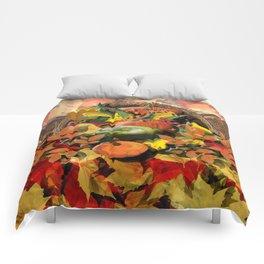Horns of Plenty Comforters