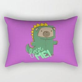 fear me! Rectangular Pillow