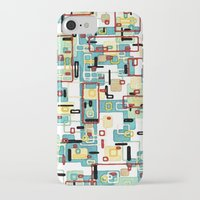 mod iPhone & iPod Cases featuring Mod by Tina Carroll