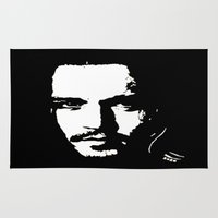 johnny depp Area & Throw Rugs featuring Johnny Depp by Kunooz
