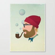 Soap bubble Hipster Canvas Print