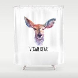 Vegan Dear Shower Curtain