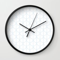 Water Ripples by Friztin Wall Clock