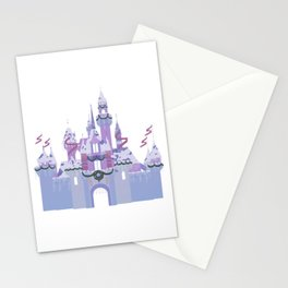 Christmas Castle 1 Stationery Cards