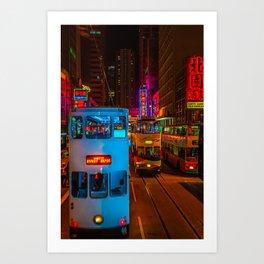 TRAM 66 Art Print