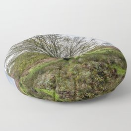Single Exmoor Tree Floor Pillow