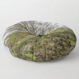 Single Exmoor Tree Floor Pillow