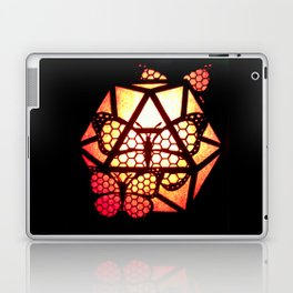 Burning Butterfly Lantern  Laptop & iPad Skin