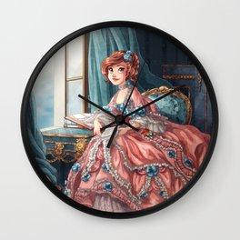 Tseumpfeuh de Hesse-Hombourg Wall Clock