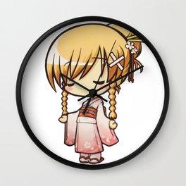 CHIBI (Kimono Version) Wall Clock