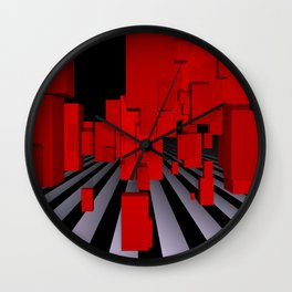 opart imaginary -102- Wall Clock