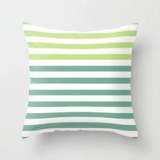 JADE STRIPES Throw Pillow