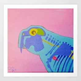 I Heart Dugong Art Print