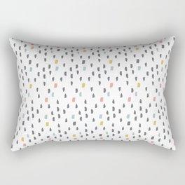 PastelDrops Rectangular Pillow