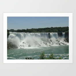 American Falls Art Print