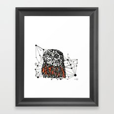 the Owl Framed Art Print
