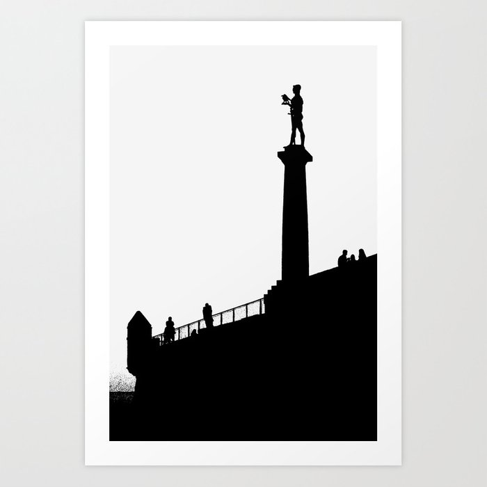 Belgrade - The Victor (Pobednik) Art Print