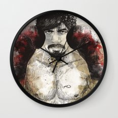 Manny Pacquiao - Bloody Gloves Wall Clock