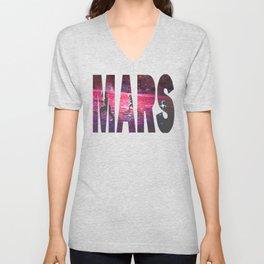 RUN on MARS Unisex V-Neck