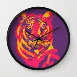 Thermal Tiger Wall Clock