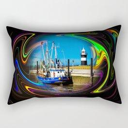 North Sea - Romance 4 Rectangular Pillow