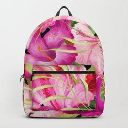 Tropical Power Flowers Backpack