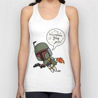boba Tank Tops featuring boba by kaylieghkartoons