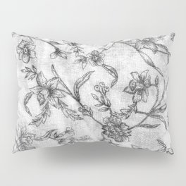 Flower Pattern Pillow Sham