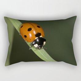 seven-spotted ladybug Rectangular Pillow