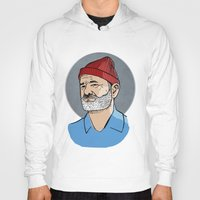 steve zissou Hoodies featuring Zissou by Max the Kid