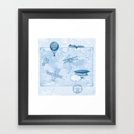 A Brief History of Flight Framed Art Print