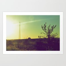 The Countryside Art Print