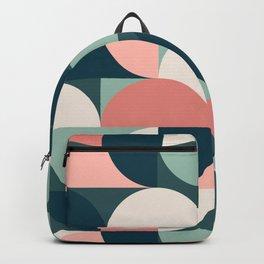 Mid Century Geometric 23B Backpack