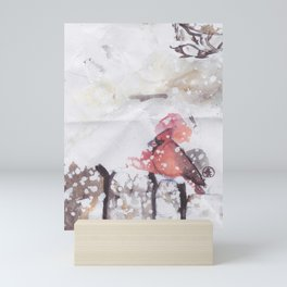Cardinal Blood Mini Art Print