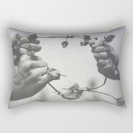 Hamlet, Act 5 Scene 1 Rectangular Pillow