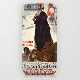 retro old anniversaire du er juin poster iPhone Case
