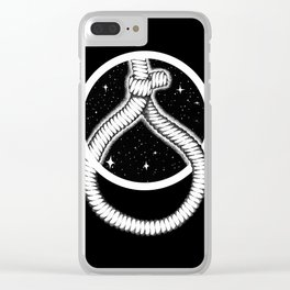 Suicide Clear iPhone Case