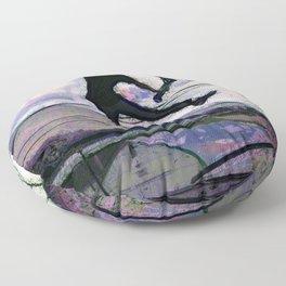 Deck Grab Champion - Stunt Scooter Art Floor Pillow