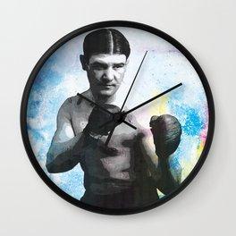 Boxer Portrait Wall Clock