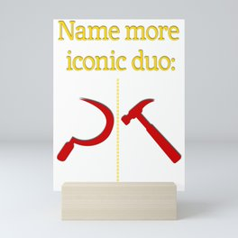 Name more iconic duo Mini Art Print