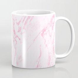 Pink Marble Look Coffee Mug