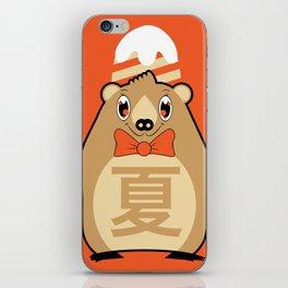 Natsu - Season bear Summer iPhone Skin