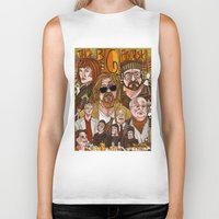 big lebowski Biker Tanks featuring The Big Lebowski by David Amblard