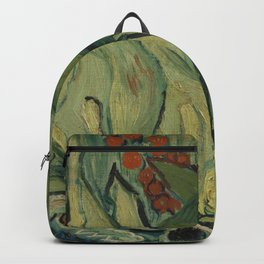 """Vincent Van Gogh """"Emperor Moth (The giant peacock moth)"""" Backpack"""
