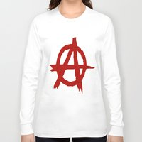 sons of anarchy Long Sleeve T-shirts featuring Anarchy by ArtSchool
