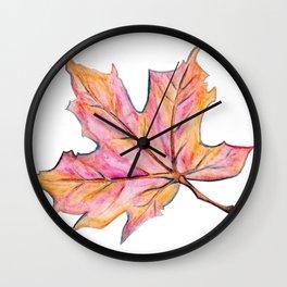 Leaf Brilliant Wall Clock